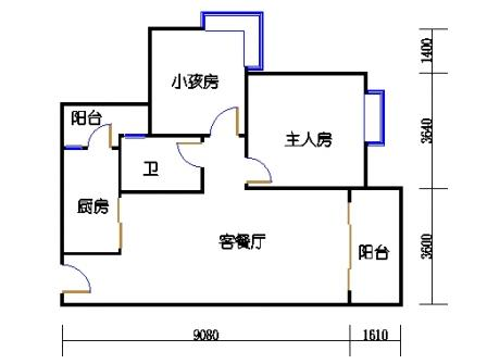 A10栋5-27层06单元