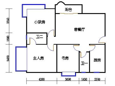 凯撒庭B栋06单元