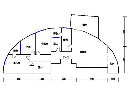 3号楼8单元西边套