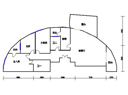 3号楼8单元东边套