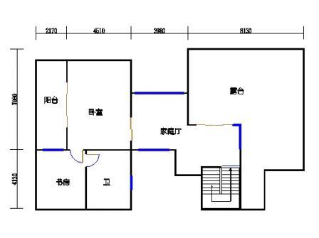 T2别墅三层