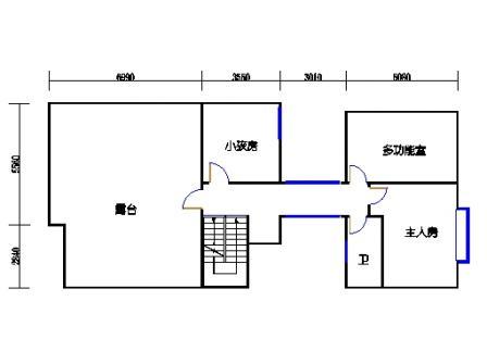 T3别墅二层