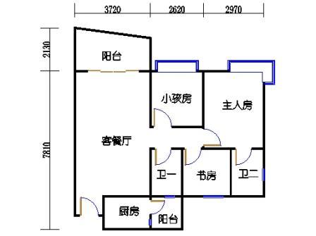 城央杰座5-14座(8号2区)02单元