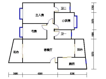 城央杰座57、58、59、60座(8号1区)03单元