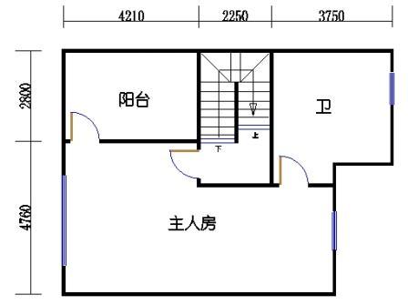 T2型御墅三层