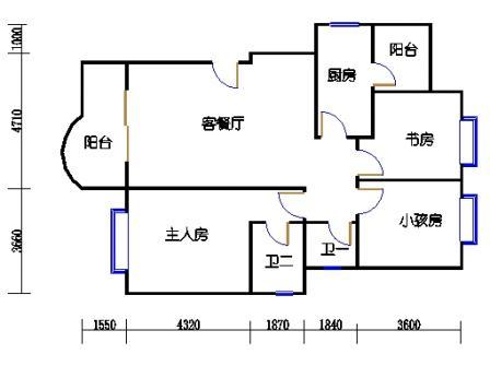 1#楼3号户型 1-2-9-2