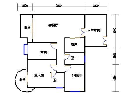 瀚江庭14-22层05单元