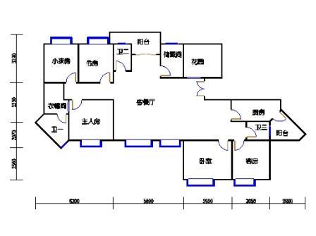 领江庭2-22层01单元