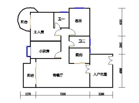 领江庭14-22层04单元