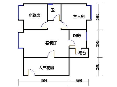 畔江庭9层01单元