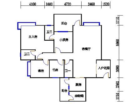 F2型6-15层03单元
