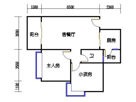03栋1座2层03单元