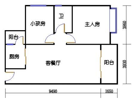 04栋2层01单元