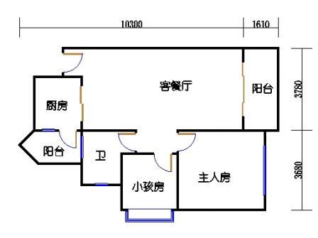04栋2层03单元