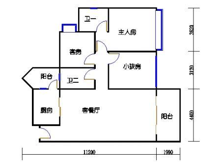 04栋3层04单元