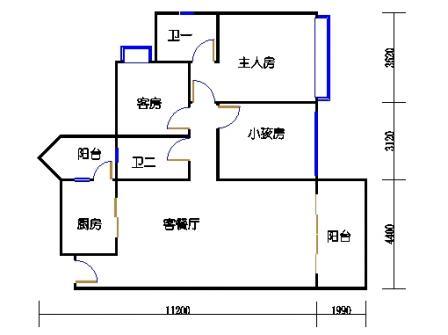 04栋4-15层04单元