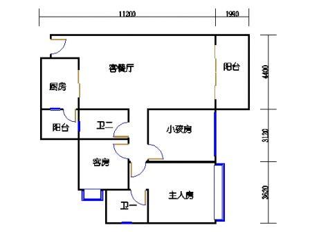 04栋4-15层05单元