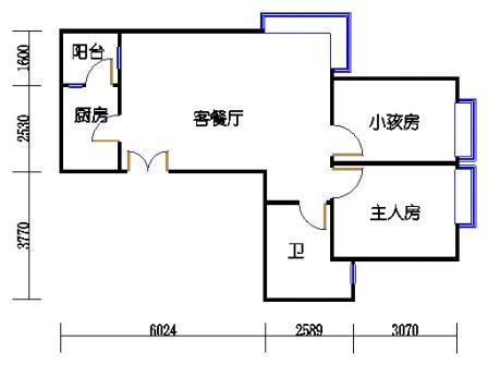 A7栋标准层03单元