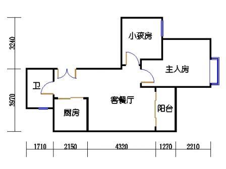 A7栋标准层04单元