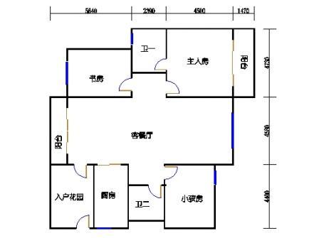 C户型(4栋2单元)