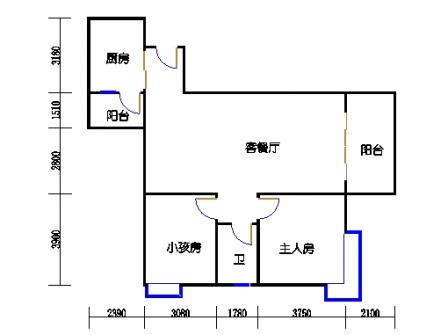 3栋5-30层02单元