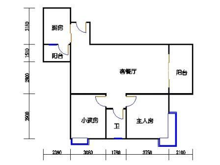 3栋5-30层06单元