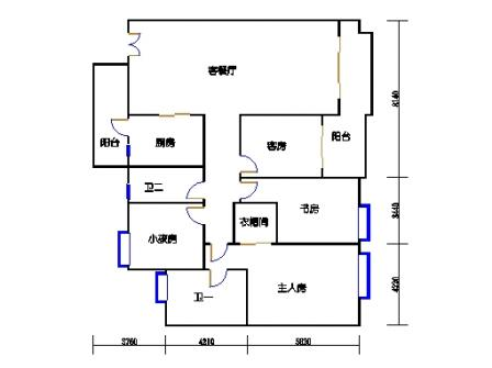A6栋4-28层01单元