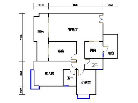 A6栋4-28层02单元