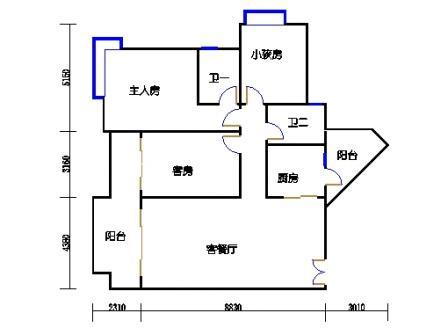 A6栋4-28层03单元