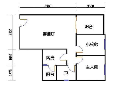 六栋B座2-28层04单元