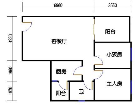 六栋C座2-28层04单元