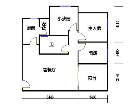 六栋D座1-28层07单元