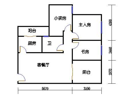 七栋A座1-28层04单元