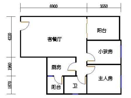 七栋B座1-28层04单元
