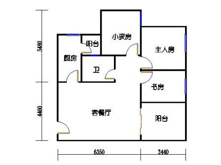 七栋C座1-28层04单元