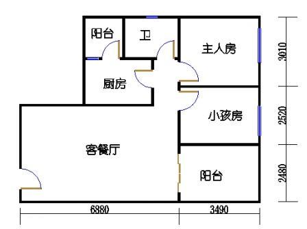 七栋C座5-28层05单元