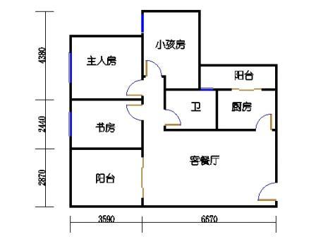 七栋C座2-28层05单元