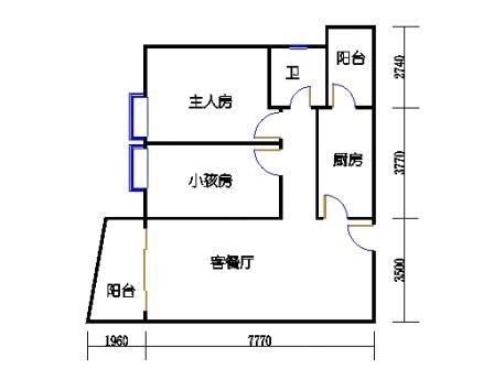 东塔3-16层01单元