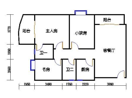 东塔3-16层02单元