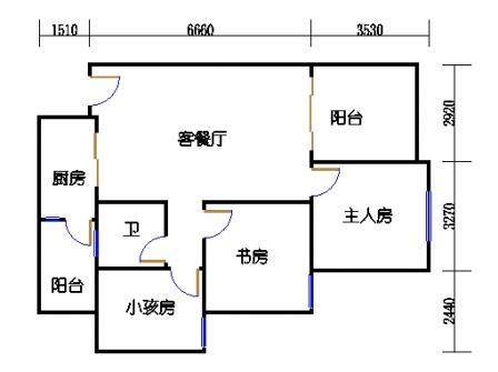 9栋A座2~28层08单位