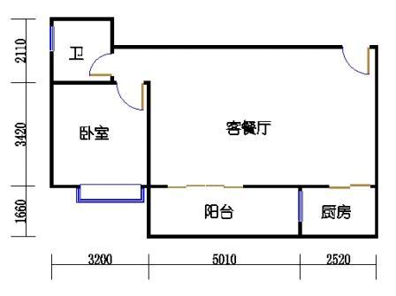 A1 5-19、21、23、25层07单元