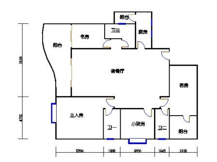 东塔3-16层05单元