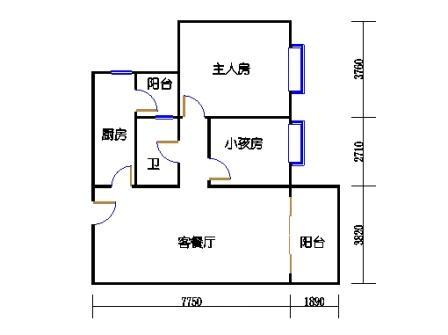 7号搂标准层04单元