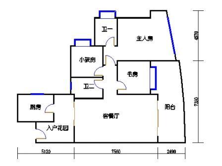 A6栋4-15层01单元