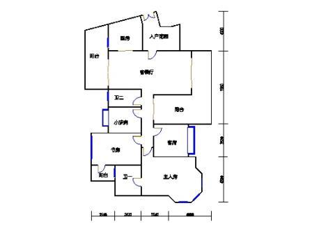 A6栋4-15层03、04单元