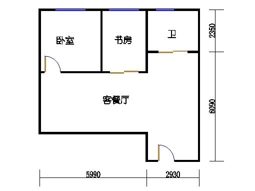 14-16层09单元