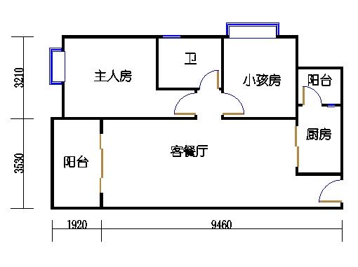 1栋5-10层03单元