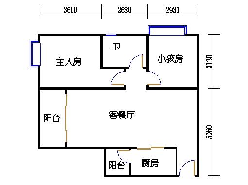 7栋6-16层03单元