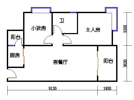 9栋6-16层03单元