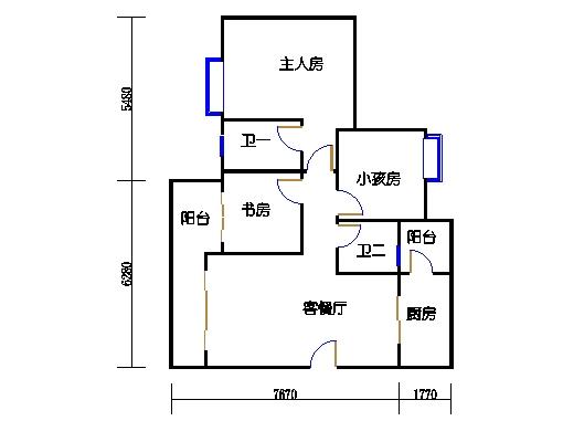 9栋6-16层05单元